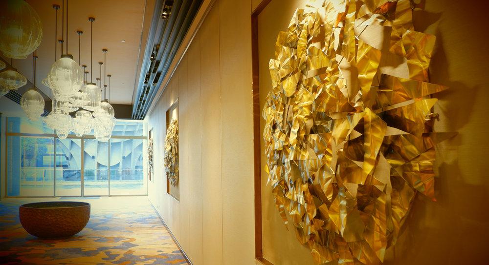 Hilton Danang Pre function artwork by Hay Hay