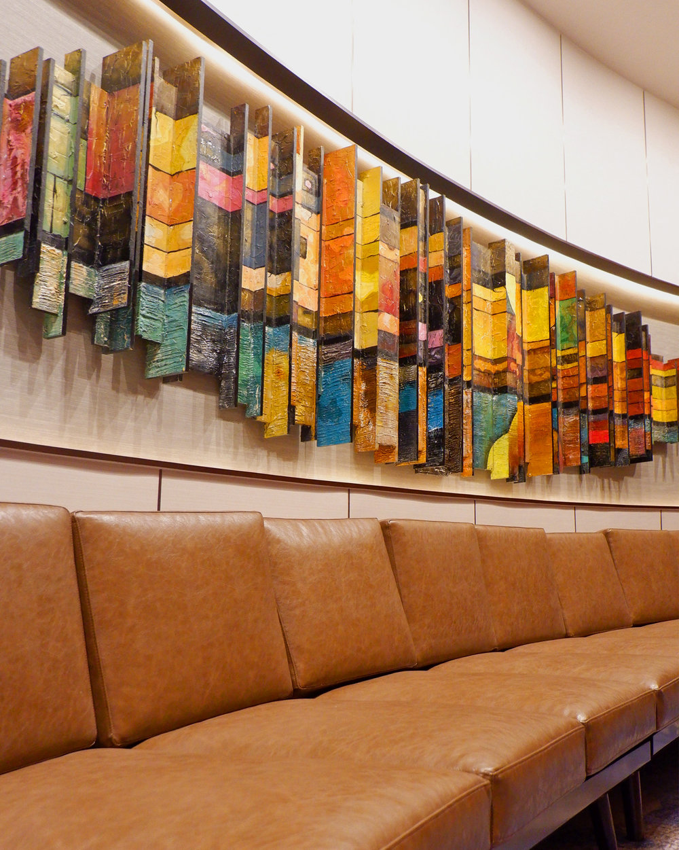 Hilton Danang Meeting Room Sculpture by Hay Hay