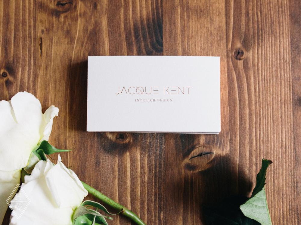 Jacque Kent Interior Design Branding by Hello Gypsy | © Hello Gypsy