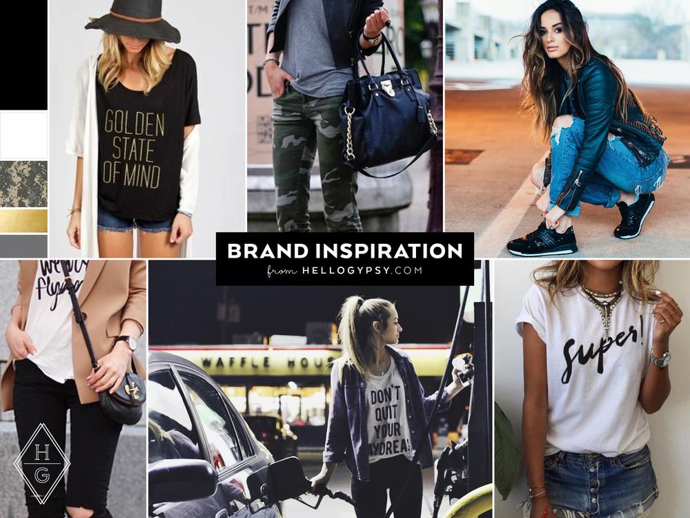 Lacy Cavalier Branding + Tour Merchandise by Hello Gypsy | © Hello Gypsy
