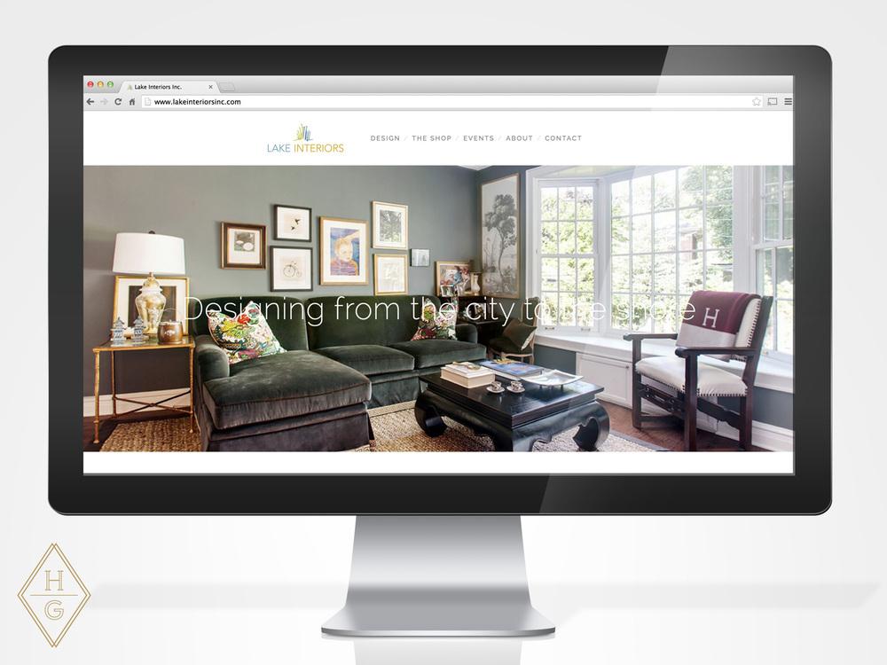 Lake Interiors Branding and Website Design by Hello Gypsy | © Hello Gypsy