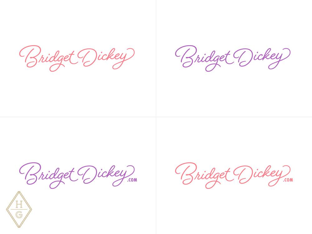 Bridget Dickey Branding by Hello Gypsy | © Hello Gypsy