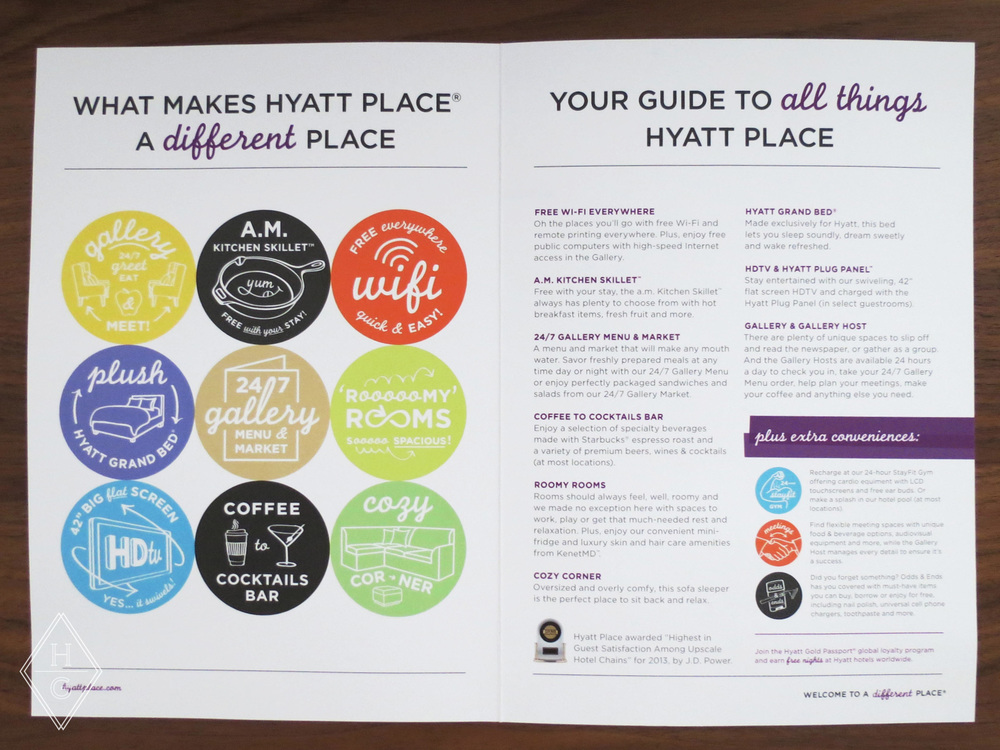 Hyatt Place Branding by Hello Gypsy | © Hello Gypsy. Hyatt and Hyatt Place names, designs and related marks are trademarks of Hyatt Corporation. © 2014 Hyatt Corporation. All rights reserved.