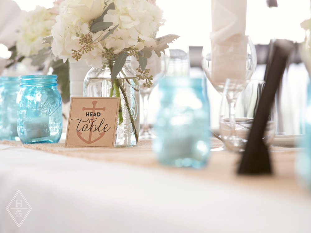 Charming + Rustic Beachfront Wedding Decor by Hello Gypsy   Photography by Roots Photography