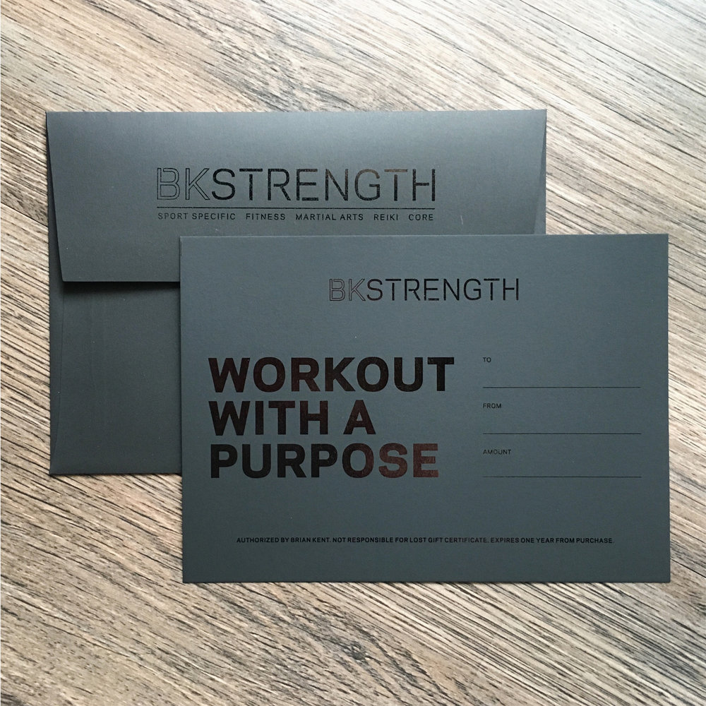 BKSTRENGTH Logo Design, Branding, and WordPress Website by Hello Gypsy