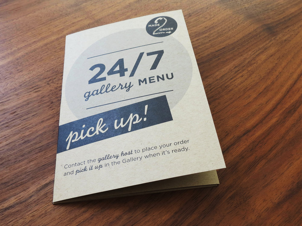 Hyatt Place 24/7 Gallery Menu and Market Design and Branding by Maggie Kent of Hello Gypsy