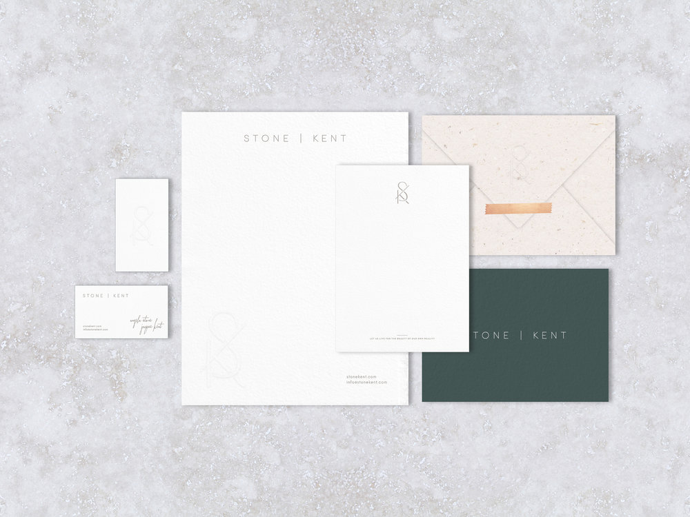 Stone | Kent Logo and Branding by Hello Gypsy