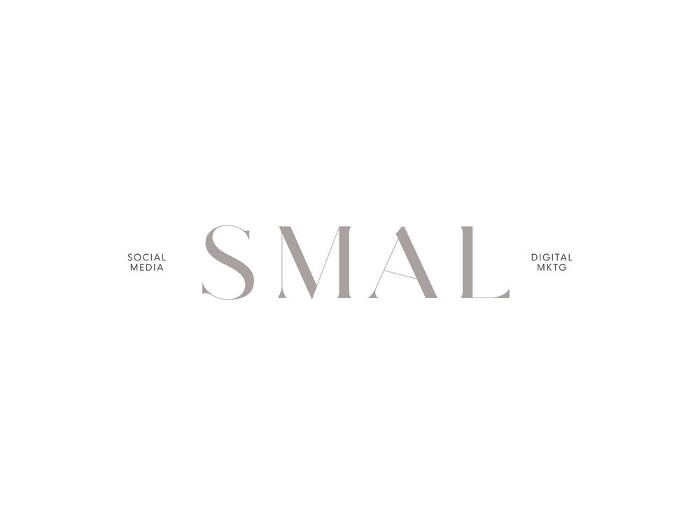 SMAL Marketing Logo Design and Branding by Hello Gypsy