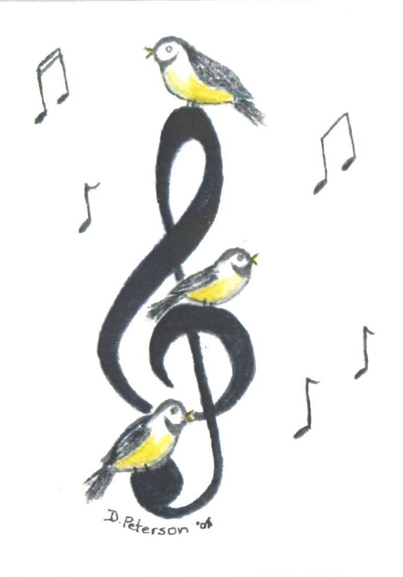 Birds on a Treble Clef