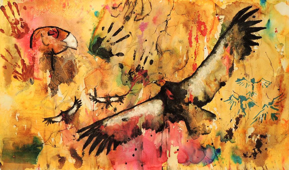 """The Ancient Ones,"" California Condor. 2016"