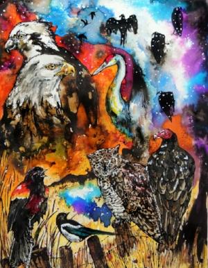 """The Universal Language of Birds."" 2017"