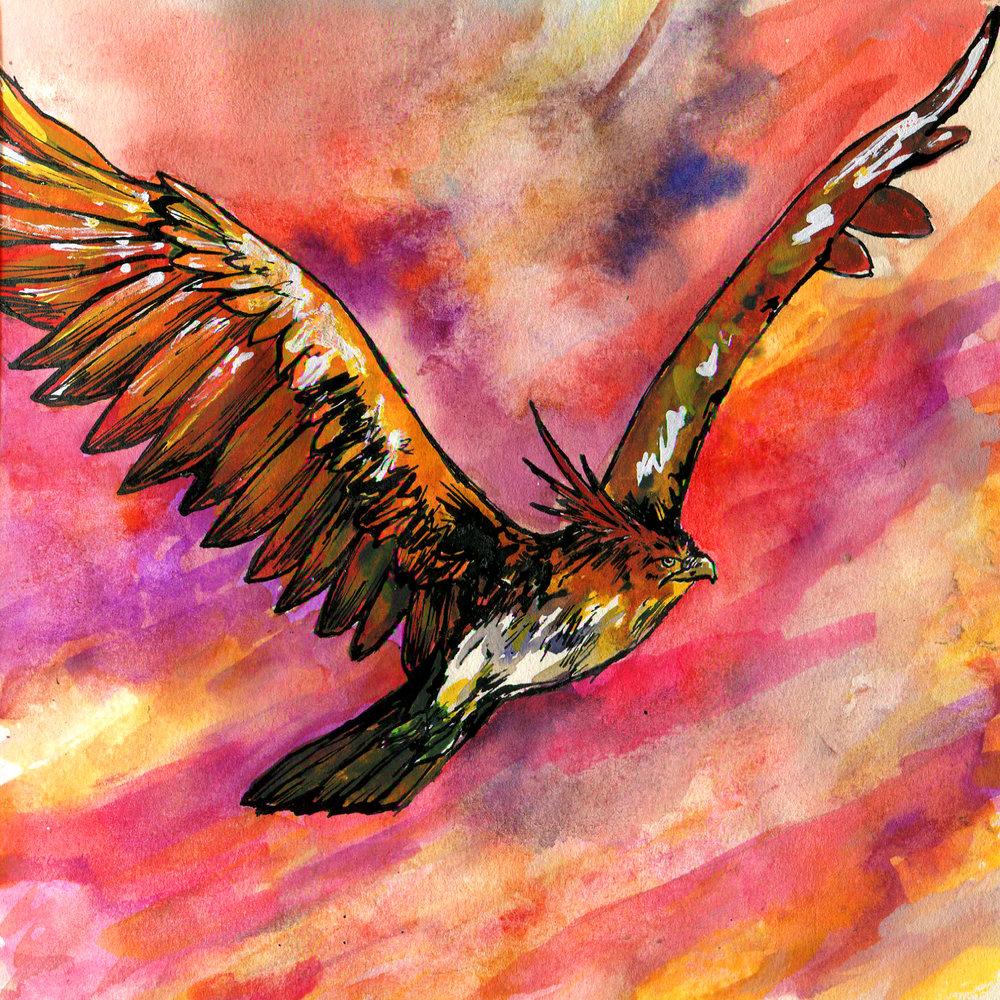 4M. Crested Garuda