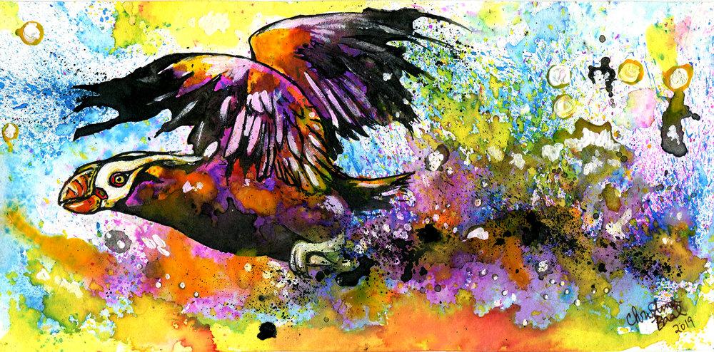 Tufted Technicolor Takeoff