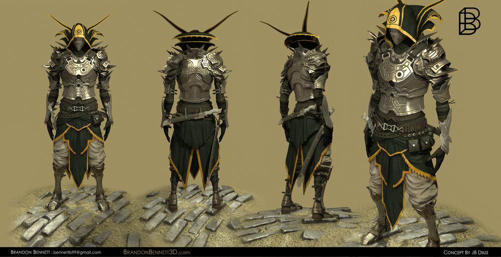 Knight : 45K Tris.