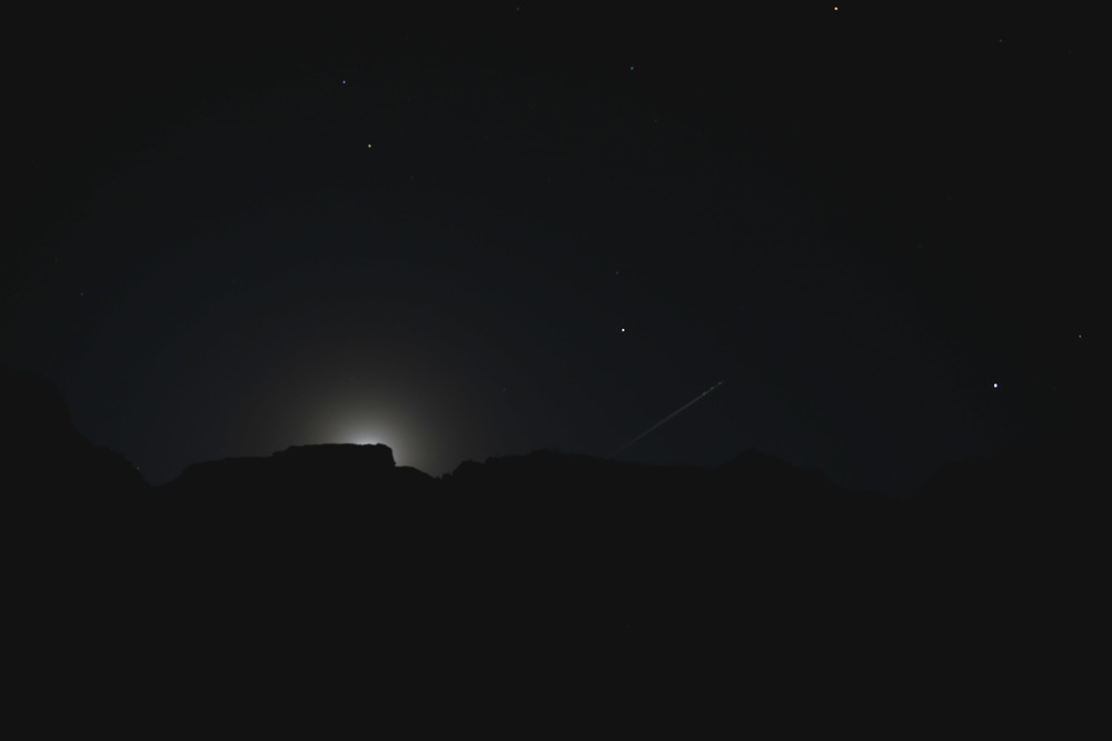 Moon Rise - Phantom Ranch