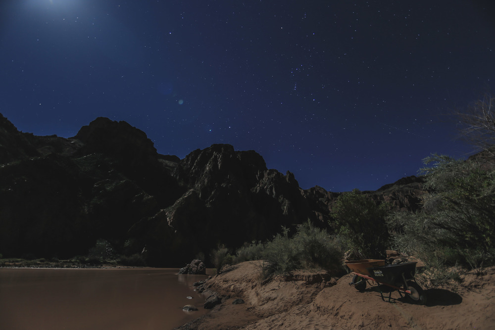 Moon Light- Colorado River