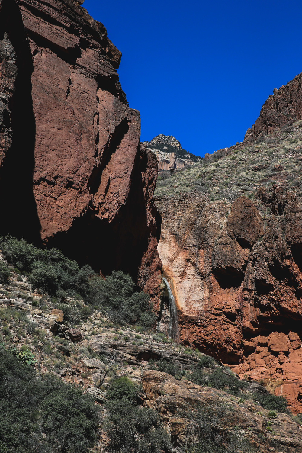 Ribbon Falls - North Kaibab Trail