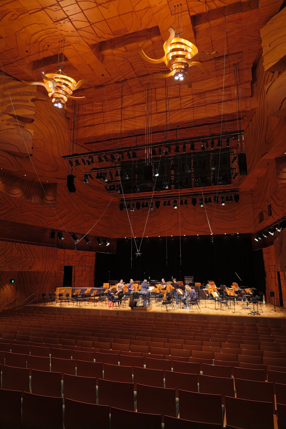 The Elisabeth Murdoch Hall, Melbourne.