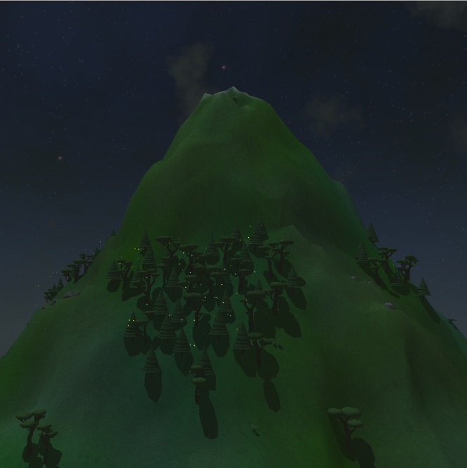 My fresh, uncorrupted mountain.