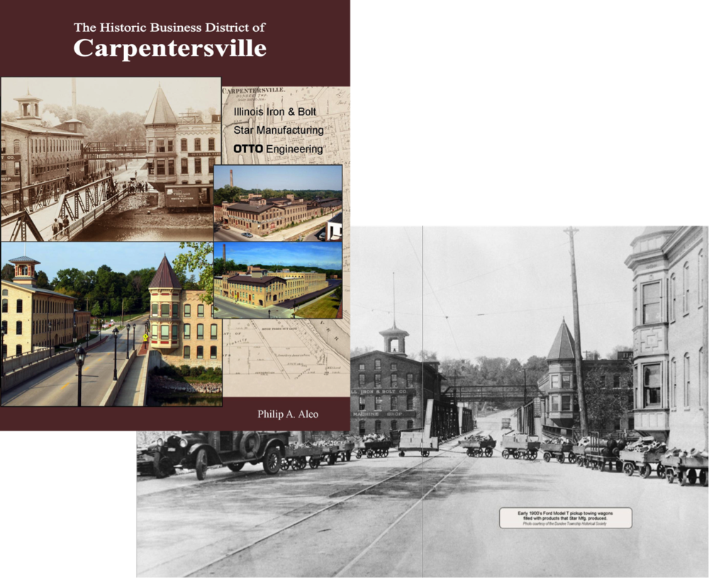 The Historic Business District of Carpentersville