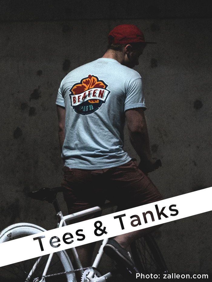 Beaten Path Tees and Tanks