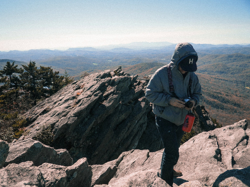 View from the top. Grandfather Mountain, NC.