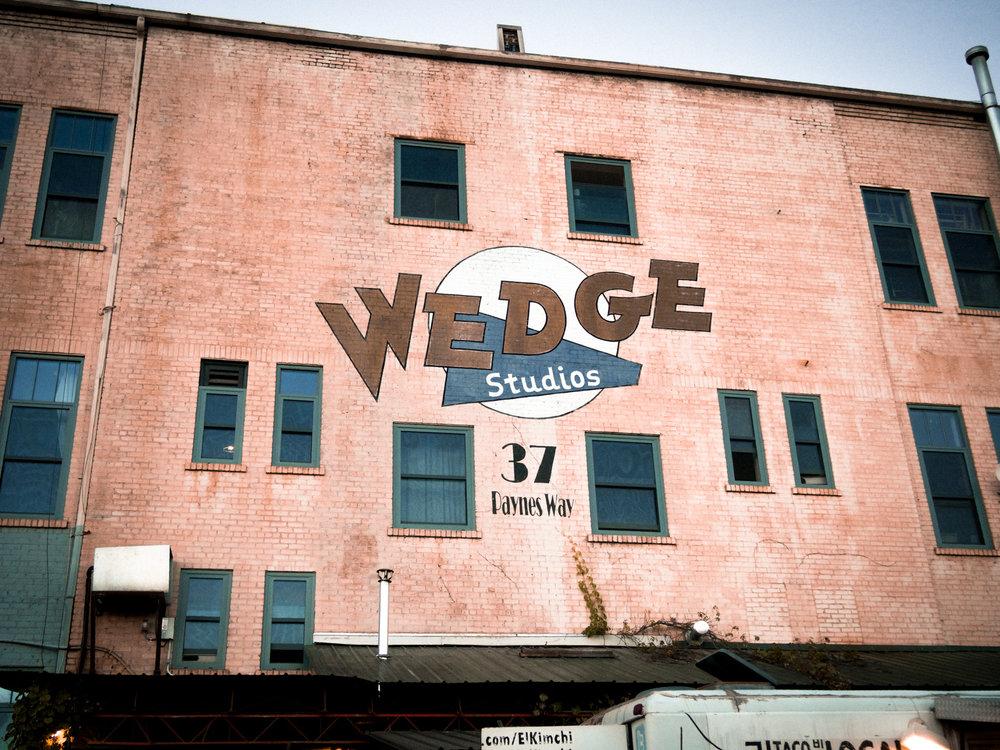 Wedge Studios. Asheville, NC.