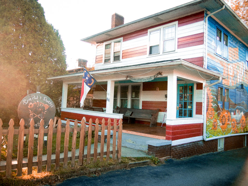 Bon Paul & Sharkey Hostel. Asheville, NC.