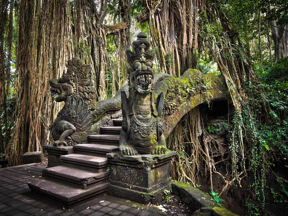 Ancient bridge, Sacred Monkey Forest | Ubud, Bali