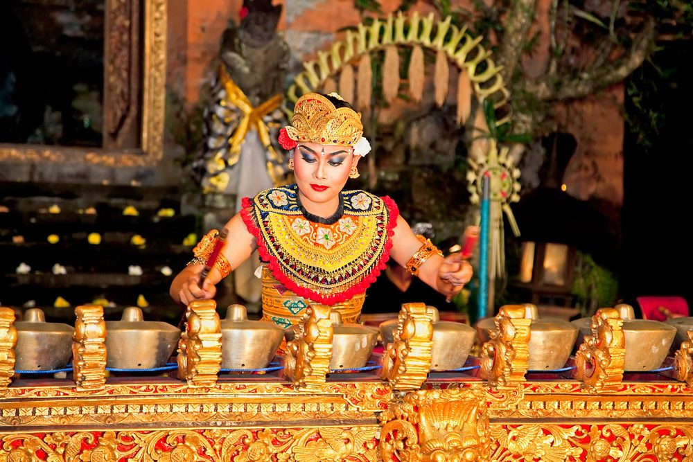 Gamelan player, Ubud Palace | Ubud, Bali