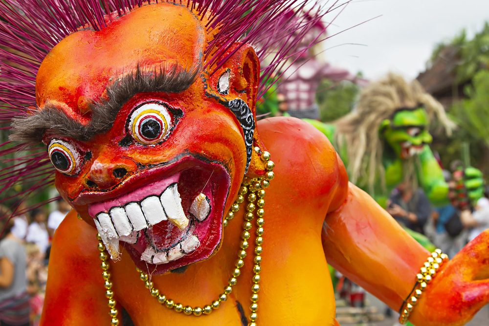 Oga Oga on the eve of Nyepi | Bali