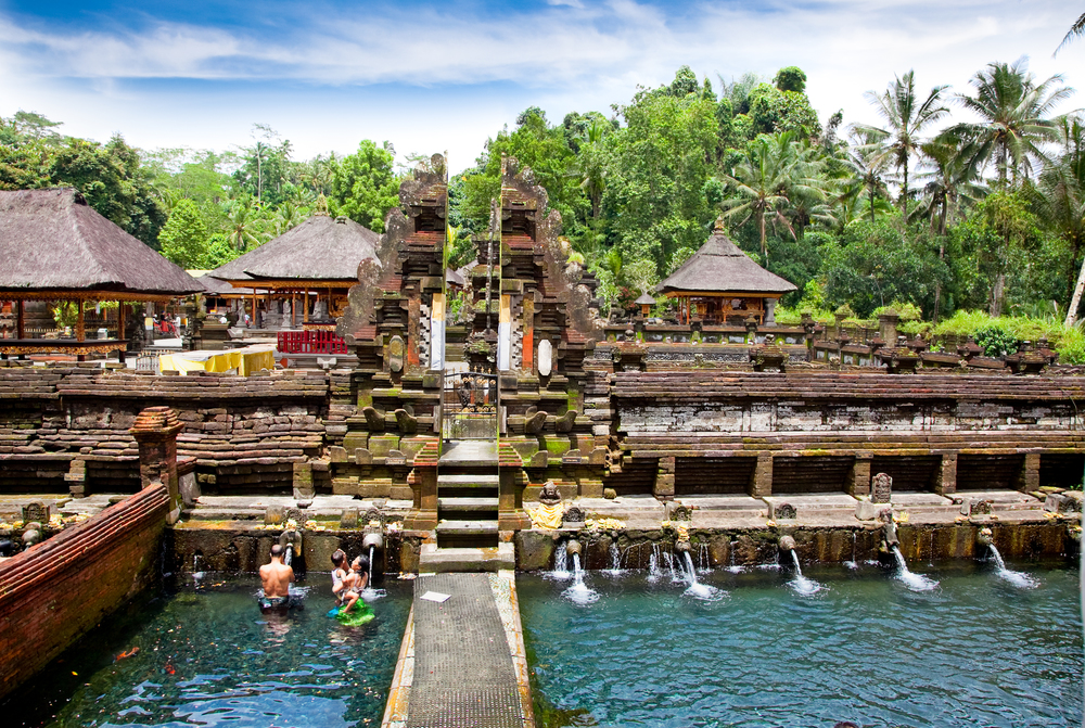 Tirtha Empul water temple, close to villa Jendela di Bali