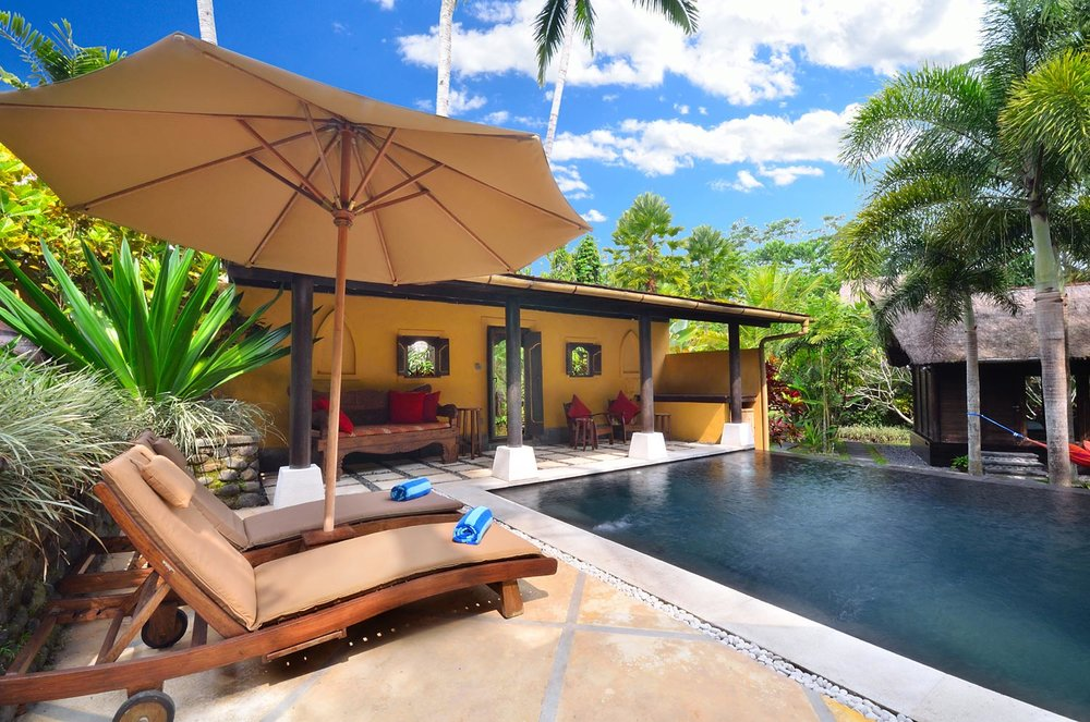 An Ubud honeymoon villa with private pool
