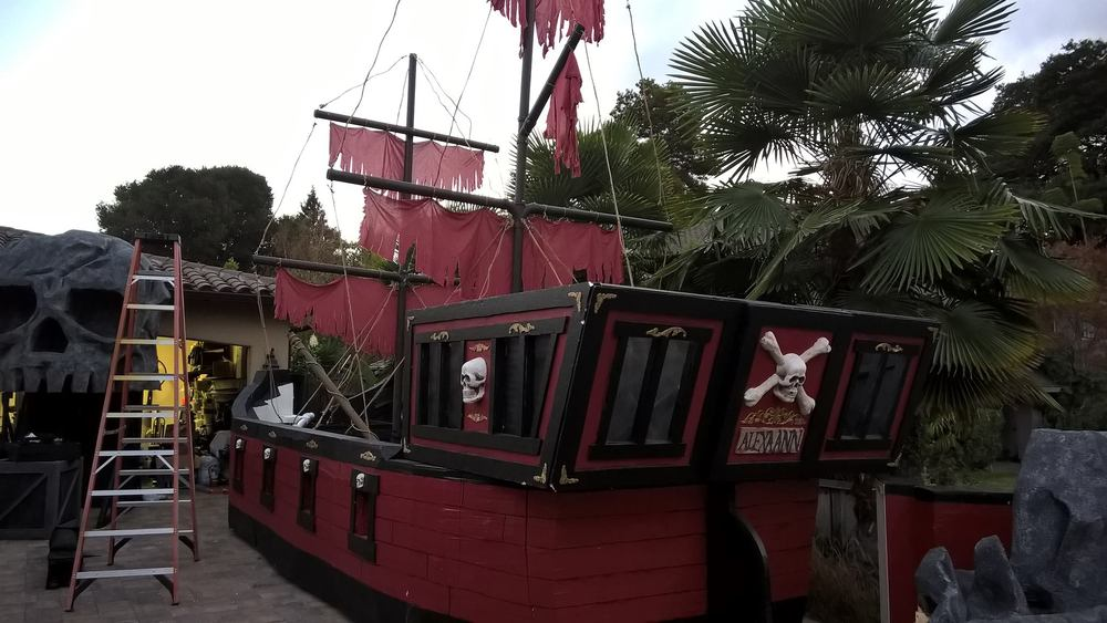 15' Ship Built