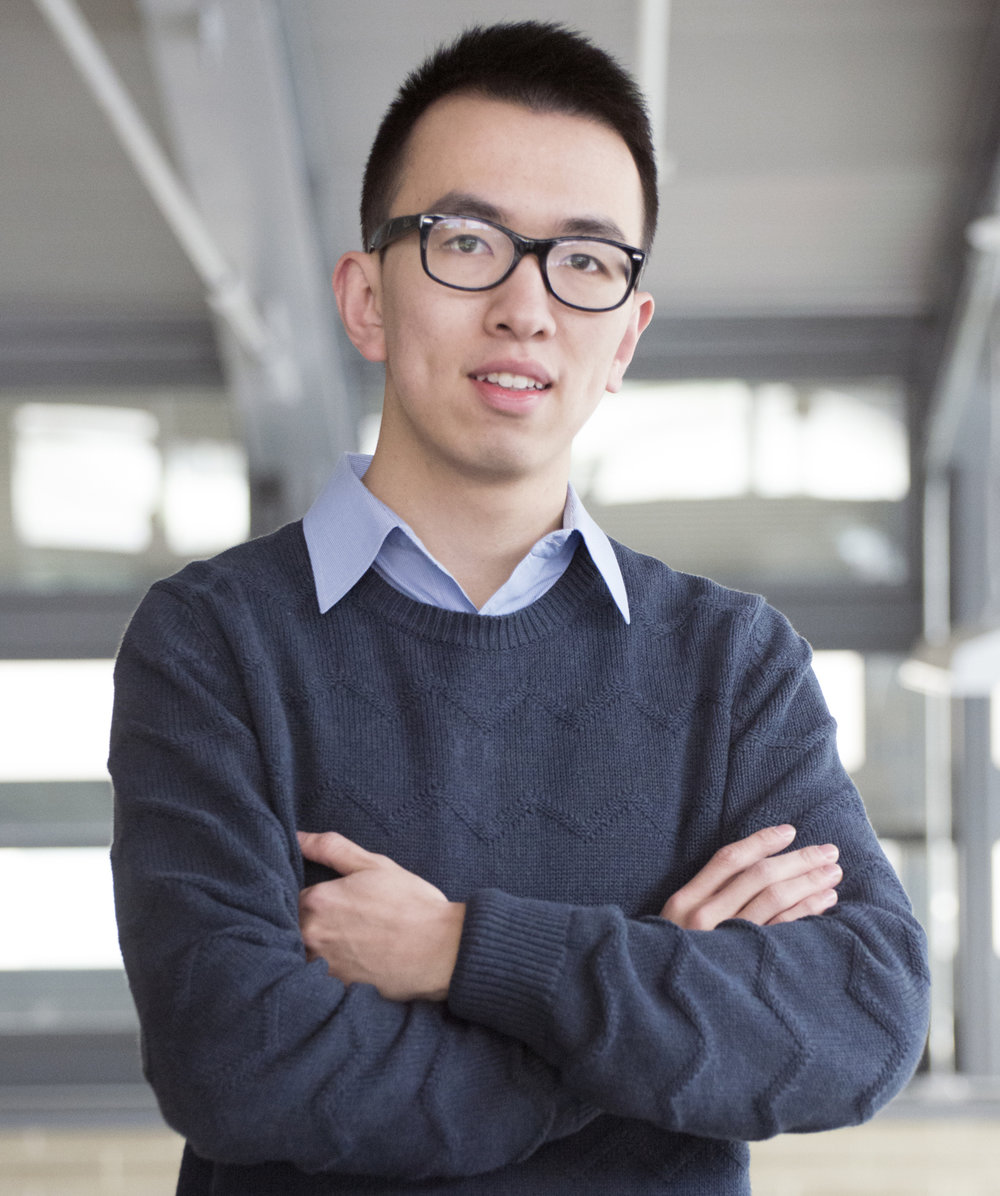 "Xin ""Cyrus"" Huang, Publicity Chair Master's Student in Aeronautics and Astronautics"