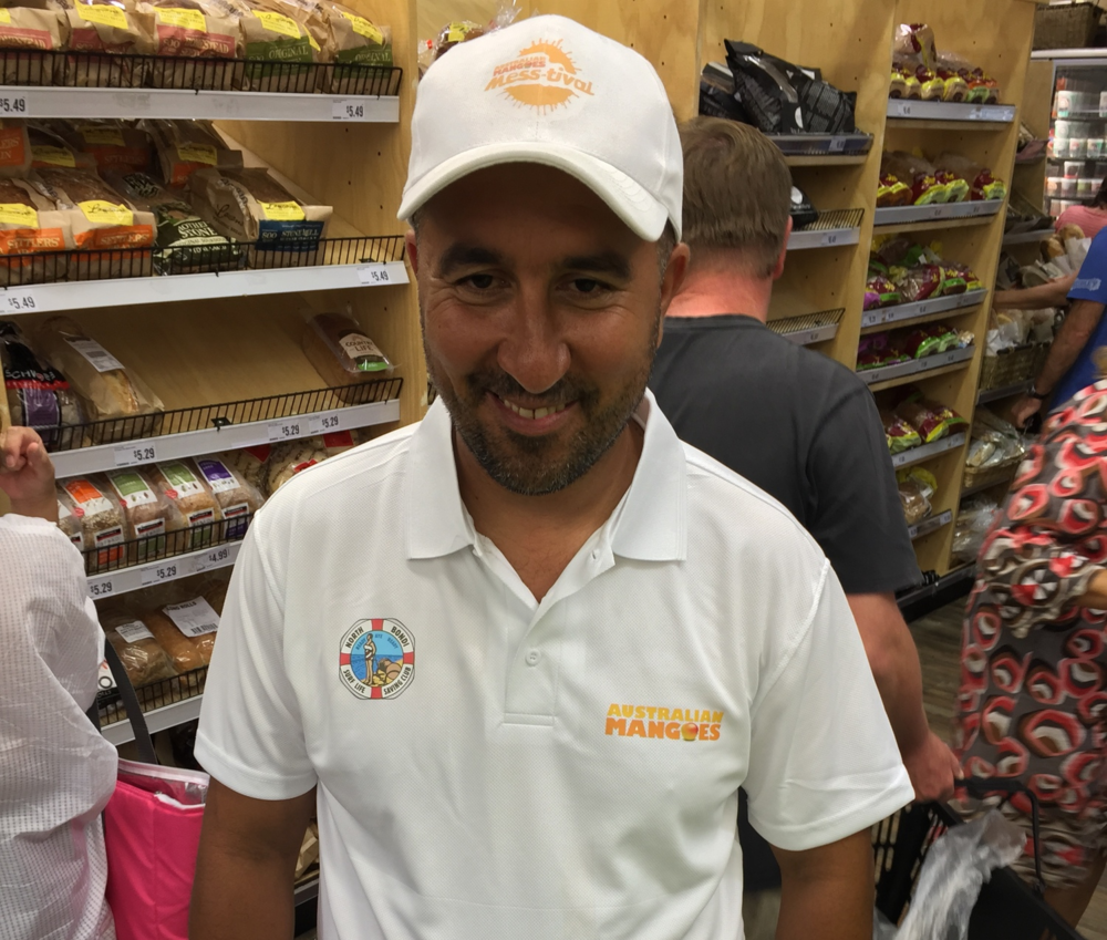 Azaha, Store Manager at Harris Farm Markets, Manly