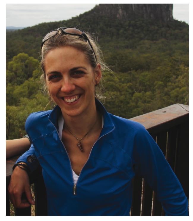Amélie Corriveau, PhD student