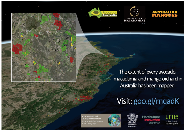 the map delivers new foundation information for industry in an easily accessible online web map for improved decision making biosecurity and natural