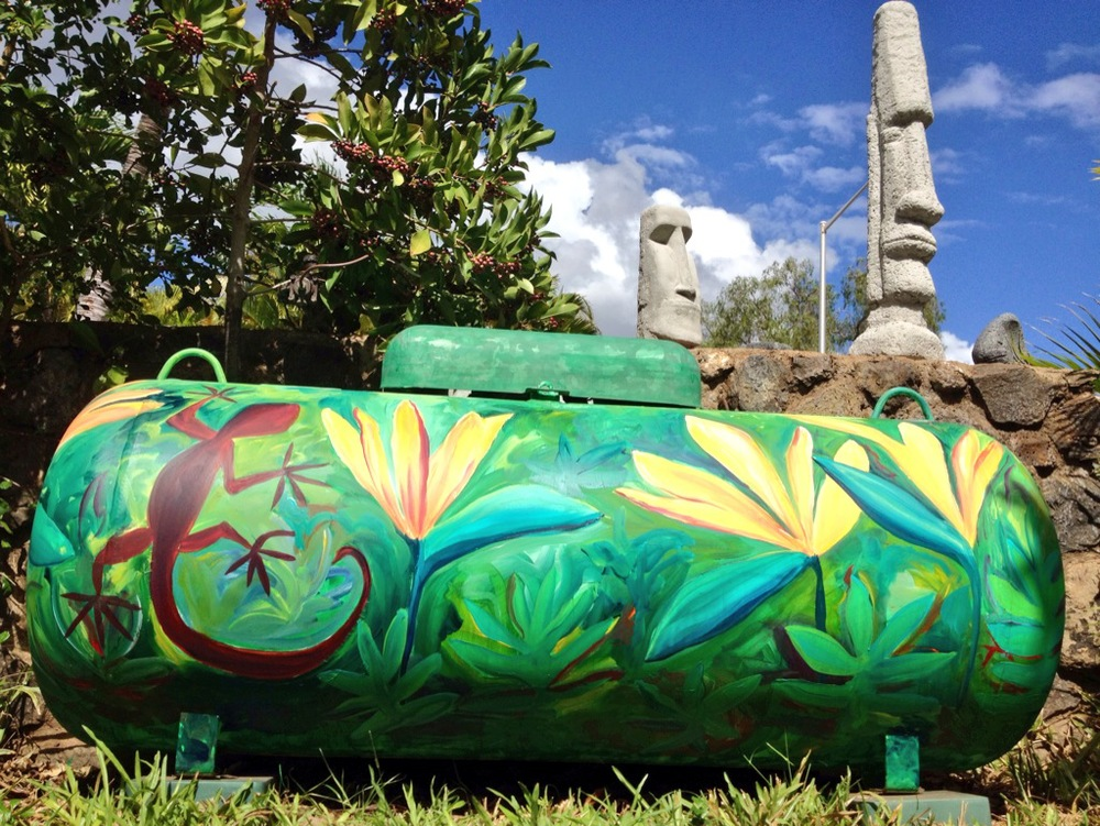 Luanaiki Place tank