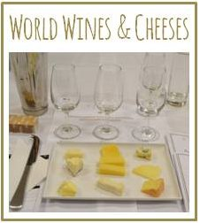World Wine and Cheese Tasting