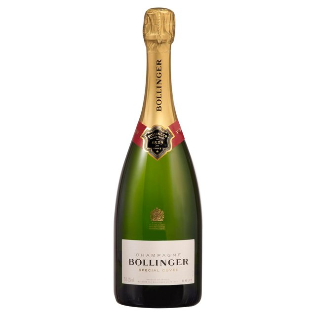 Bollinger Special Cuvee $75 Bollinger is unquestionable one of the finest of all french champagnes.