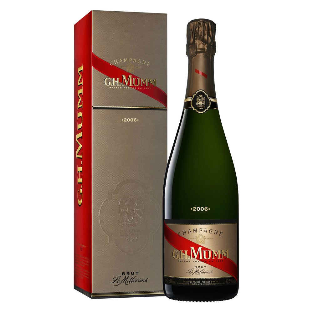 GH Mumm Vintage 2006 - $85             a rich and generous wine but fine as well.
