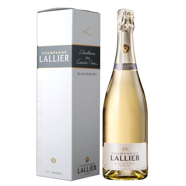 Lallier Blanc De Blanc $125            A racy Champagne with bright acidity and amazing length of flavour