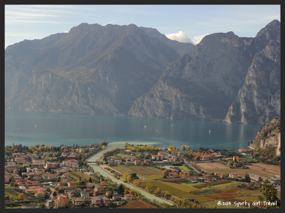 view of Riva del Garda