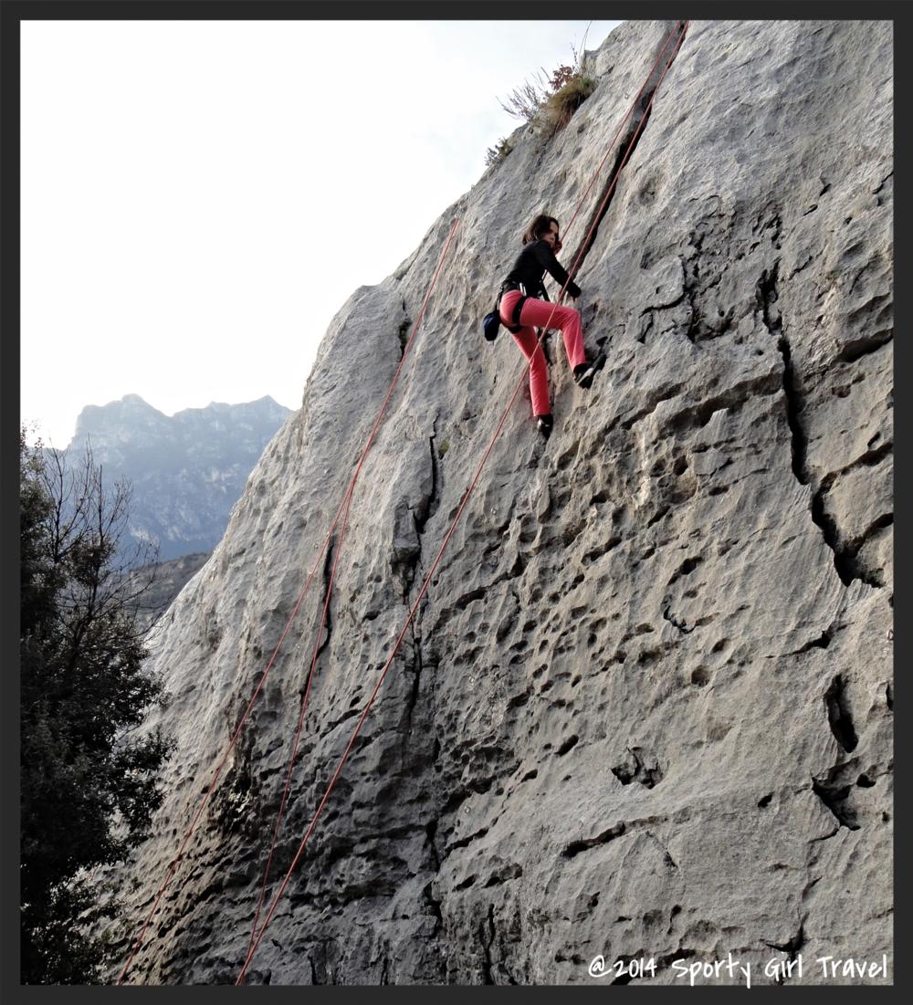 Sami climb Garda