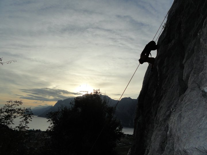 Climbing in Arco