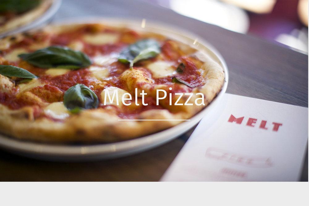 Melt pizza