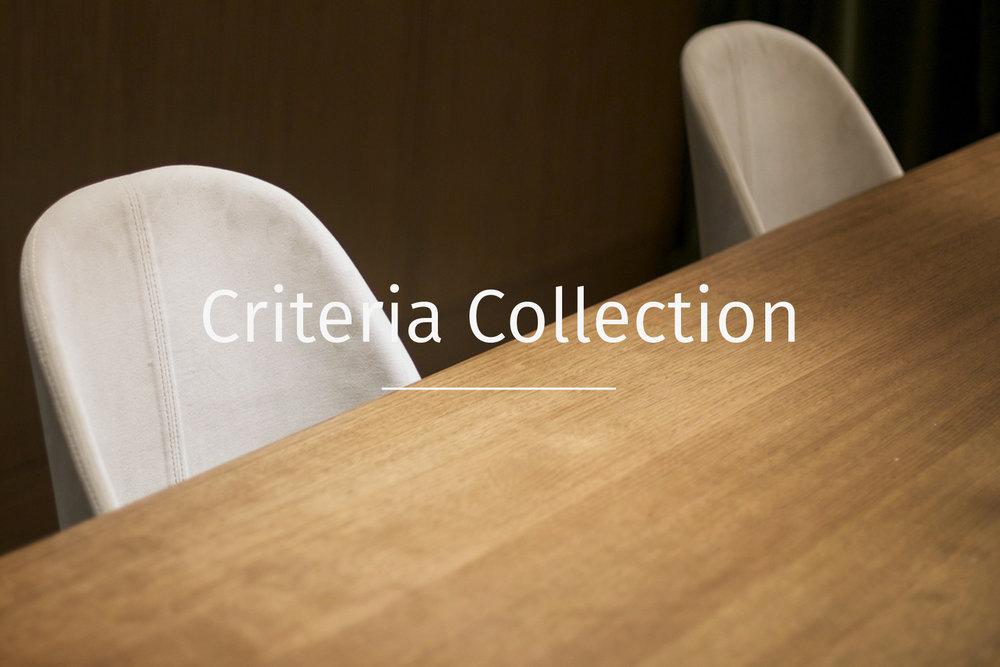 Criteria collection