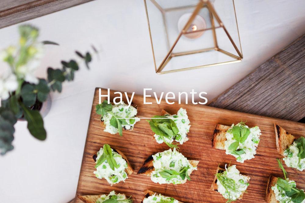 Hay events