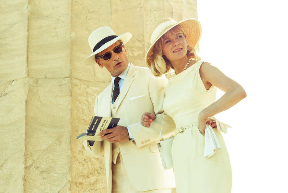 The Two Faces of January  (2014): Viggo Mortensen, Kirsten Dunst.